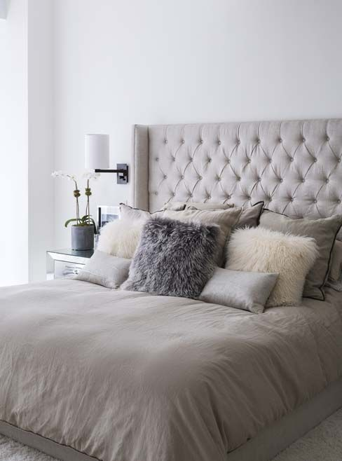 Go Inside Designer Jennifer Fisher's Spectacular N.Y.C. Loft Apartment - The Master Bedroom from InStyle.com