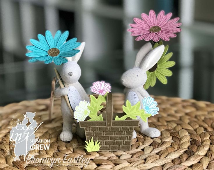Colour INKspiration #28, Easter Rabbits, Home Decor, Delightful Daisy, Picnic with You, Easter Basket, Stampin' Up! ®, addinktive designs