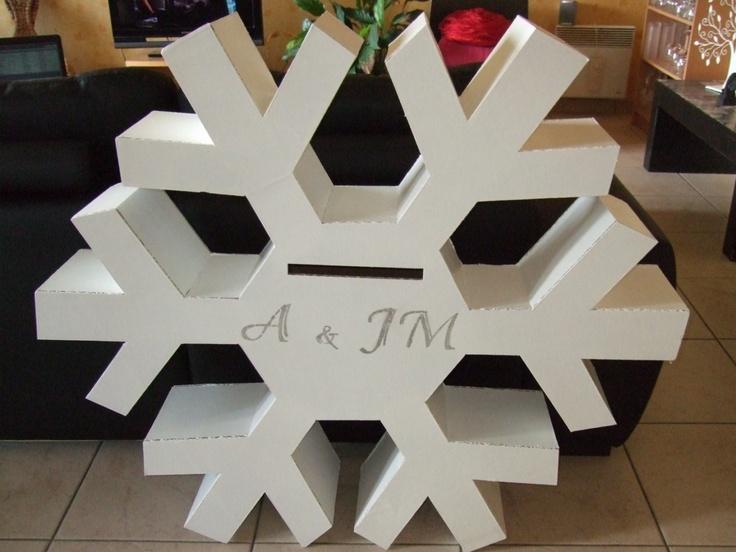 22 best images about mariage en hiver conseils photos for Decoration urne
