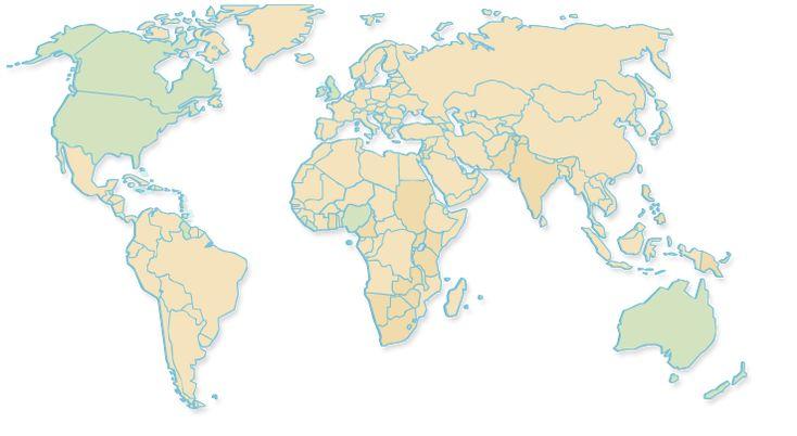 Apprendre l'Anglais gratuitement avec TeaTime-Mag » Les pays anglophones