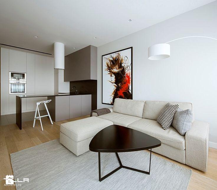 Salon styl Minimalistyczny - zdjęcie od TILLA architects - Salon - Styl Minimalistyczny - TILLA architects