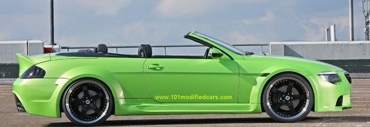 Modified BMW 6 Series 2 door convertible cabriolet (2nd