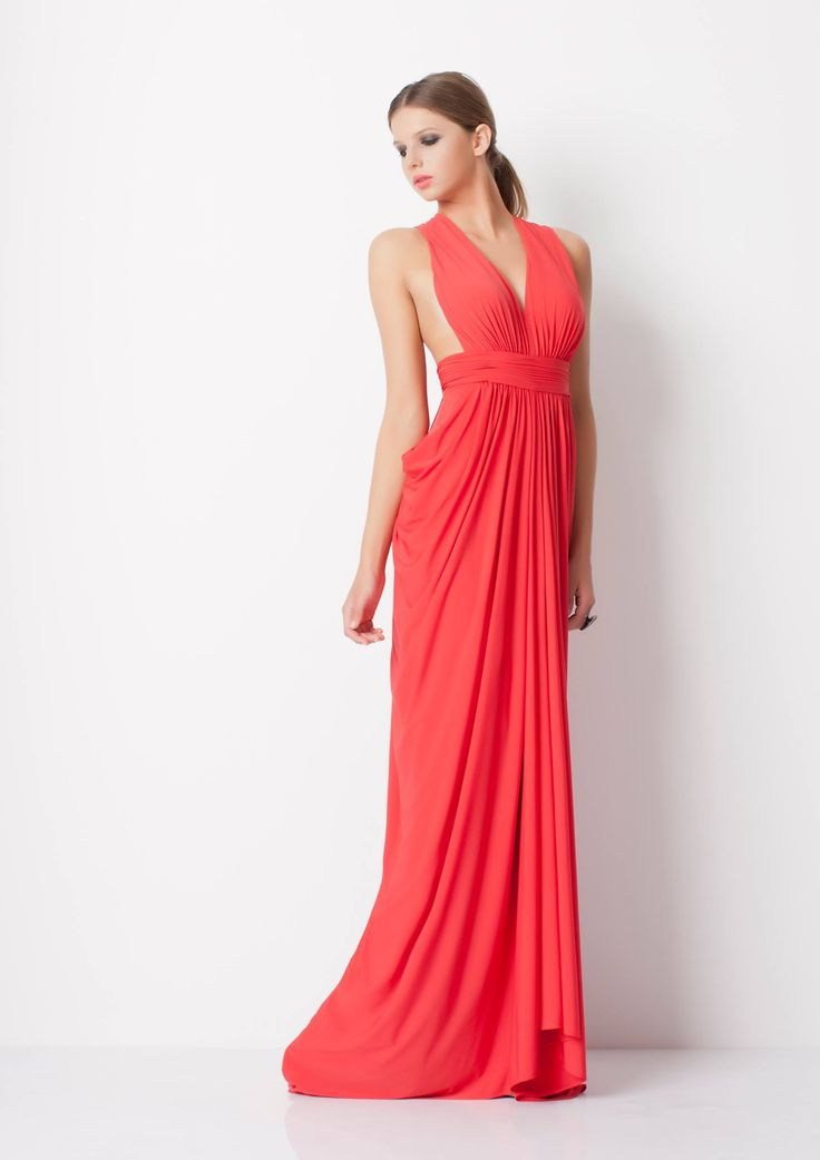 The Elki Gown by George here at It's Your Moment Formal Boutique Albany Creek Brisbane