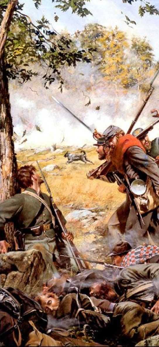 At Gettysburg