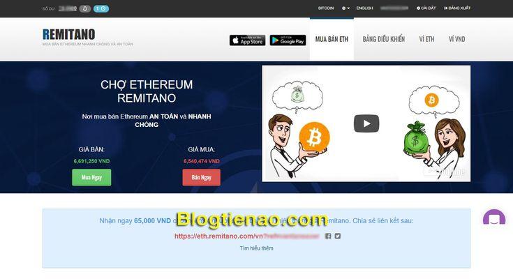 Hướng dẫn mua bán Ethereum trên Remitano uy tín, giá rẻ nhất Việt Nam.   #bản #BlogTienAo #dẫn #Ethereum #giá #hướng #mua #Nam #nhất #rẻ #Remitano #tín #trên #uy #Việt. Đọc thêm tại: https://chuyentienao.com/huong-dan-mua-ban-ethereum-tren-remitano-uy-tin-gia-re-nhat-viet-nam/