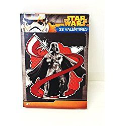Paper Magic 32CT Showcase Star Wars Kids Classroom Valentine Exchange Cards