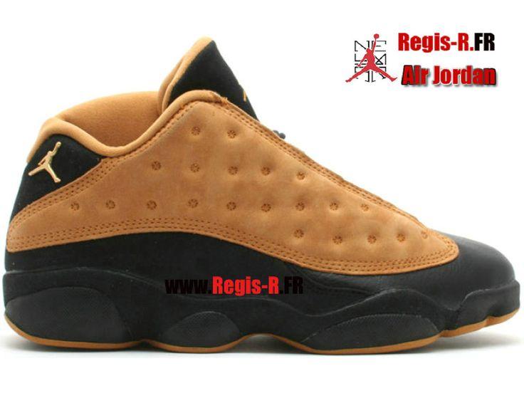 Air Jordan 13 Low (Og) - Chaussures Basket Jordan Pas Cher Pour Homme Noir Chutney 136008-071