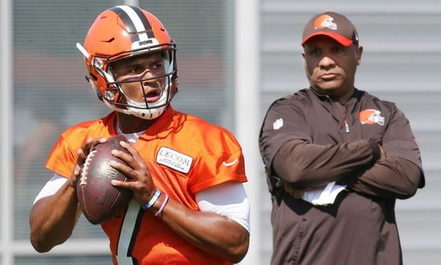 Does DeShone Kizer have a shot to win the Browns starting QB job? Hey, Mary Kay!          CLEVELAND, Ohio -- Hey, Mary Kay!Hey, Mary Kay: Does DeShone Kizer have a official likelihood to win the Browns starting quarterback job? -- ...