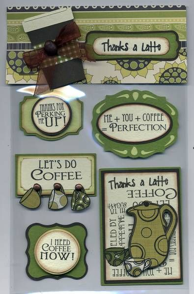 coffee themed card candy by cr8zyscrapper - Splitcoaststampers