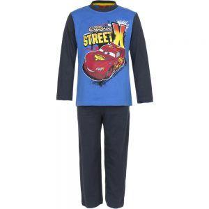 Disney kinderpyjama van CorazonKids Cars Nitroade Street X Blauw. Dit is een kinderpyjama heeft een blauwe broek voor de koude winter dagen. De trui heeft een ronde halslijn, lange mouwen en een grote print opdruk van Cars De Disney kinderpyjama van CorazonKids Cars Nitroade Street X Blauw heeft een blauwe lange broek die is voorzien van een elastische tailleband.