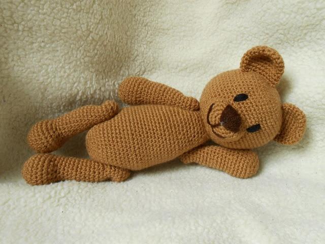 crochet teddy bear kasiulkowe prace