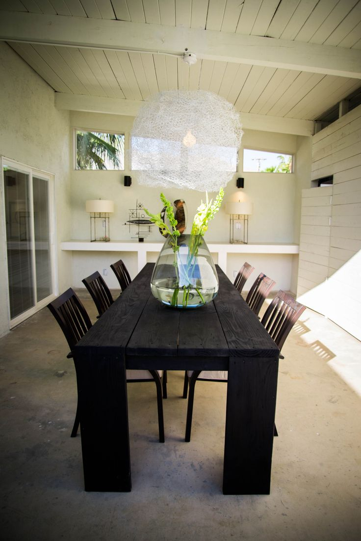 35 best outdoor dining table images on pinterest concrete