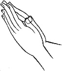 anjali mudra - Lovely post about the meaning of Namaste and the Anjali mudra