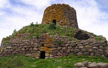 Bortigali, nuraghe Orolo - Nuraghe Su Nuraxi, Barumini, Sardinia, Italy.