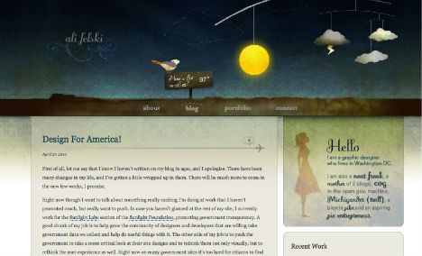 Workflow: 14 Artistic Examples of Watercolor in Web Design