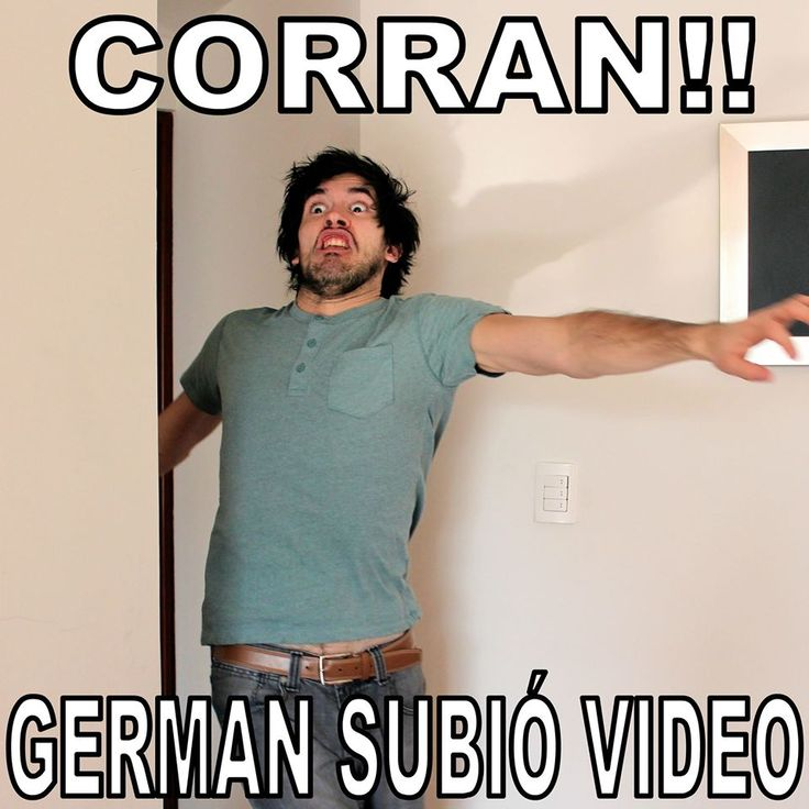 Corran!! German subió video