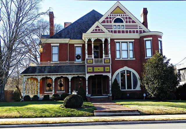 Victorian House: Dalton, Georgia by Traveled Roads, via Flickr