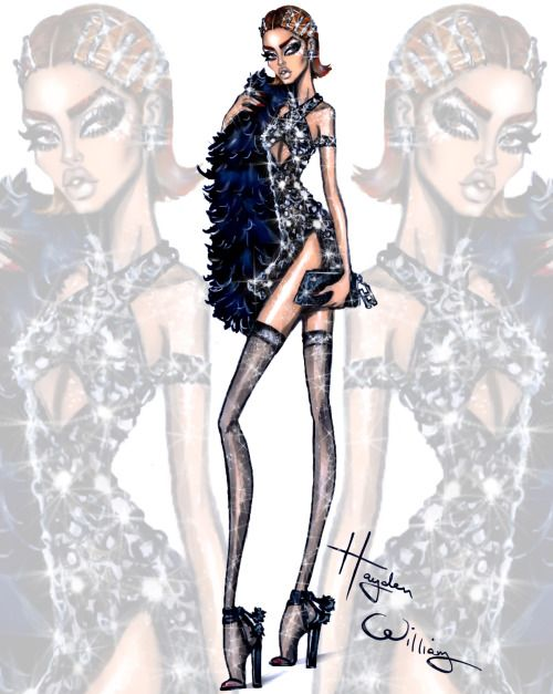 Glam Night Out: 'Traffic Stopper' by Hayden Williams