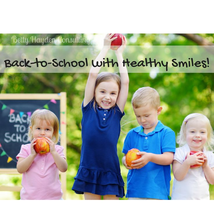 back to school dental check up - back to school with healthy smiles - dental ideas