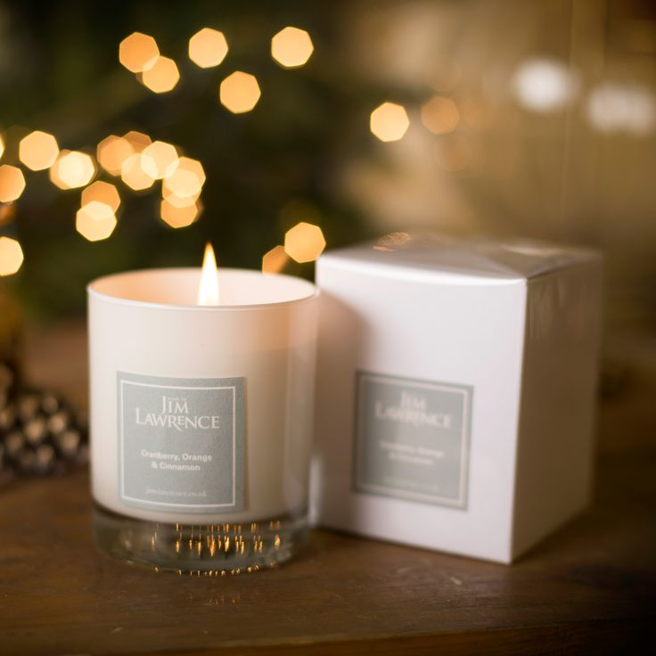 Here is one of our delicous #scented #candles. A perfect treat this #Christmas.