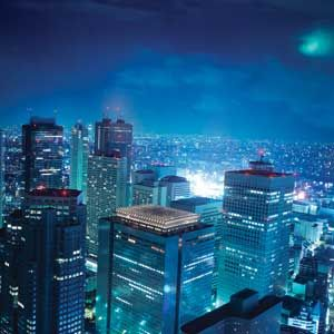 APRIL 2-9: The bustling city of Tokyo at night