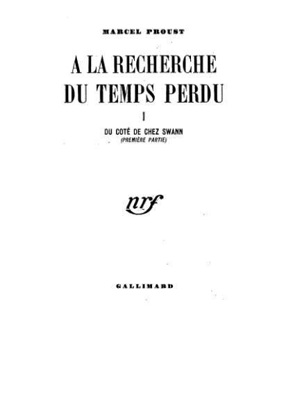 Plik:Proust - Du côté de chez Swann.djvu