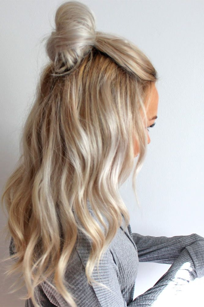Quick And Easy Hairstyles 116 Best Hair Images On Pinterest  Make Up Looks Hair Dos And Long
