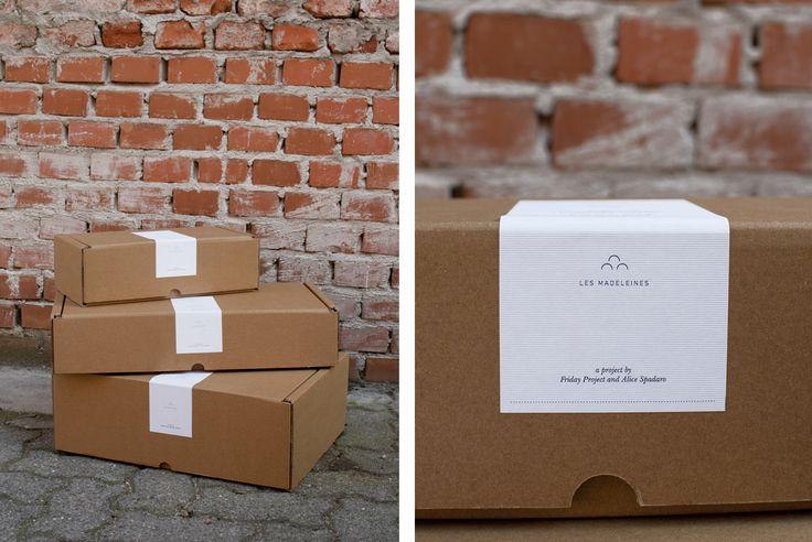 Les Madeleines, packaging - internoconcucina