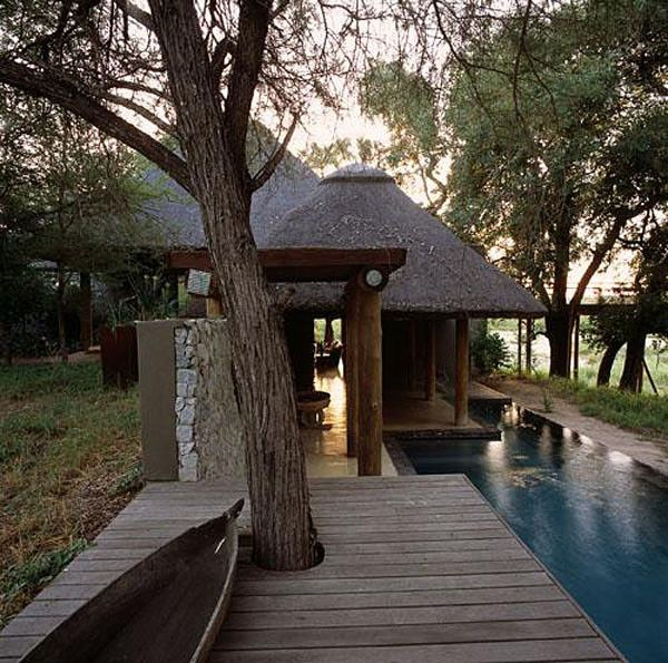 Luxurious game lodge in South Africa