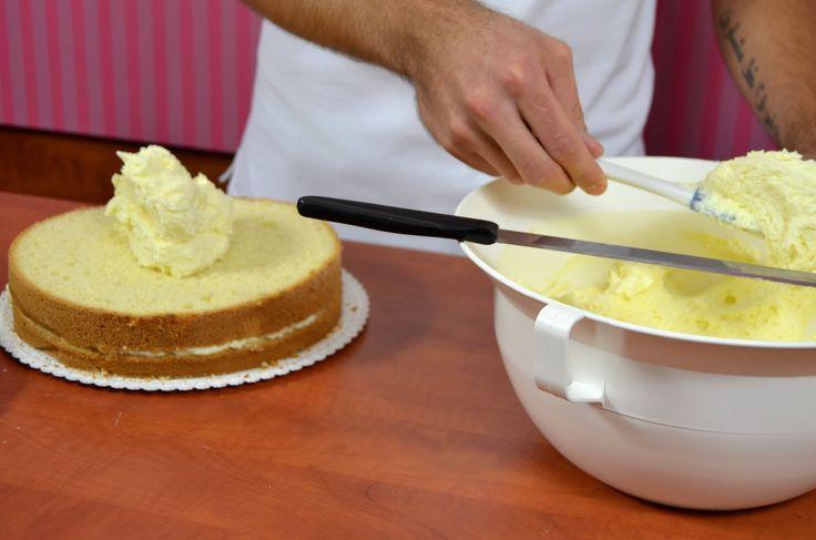 Máslový pudinkový krém - NÁVOD
