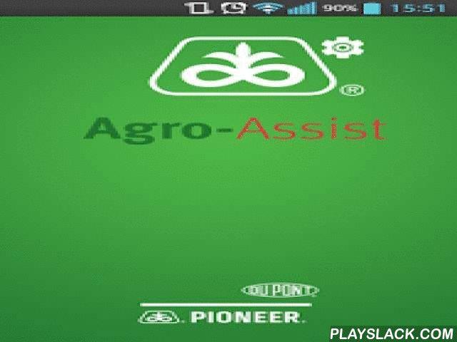 Agro-Assist  Android App - playslack.com ,  Az Agro-Assist a DuPont Pioneer által agrárgazdálkodók számára fejlesztett mezőgazdasági napló alkalmazás, melynek célja, hogy hasznos és informatív funkciókkal segítse a felhasználókat a mindennapi tevékenységeik során. Miért lehet hasznos a mezőgazdasági termelők számára az Agro-Assist? • Magyar nyelvű elektronikus agrárgazdálkodási napló• Egyedülálló módon mobil és webes felületen is ingyenesen elérhető• A gazdálkodási terület(ek) csapadékadatai…
