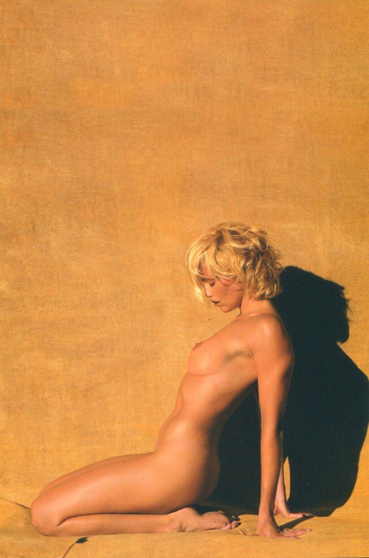 Paola Barale, GQ, Pantelleria, 1999, by Fabrizio Ferri