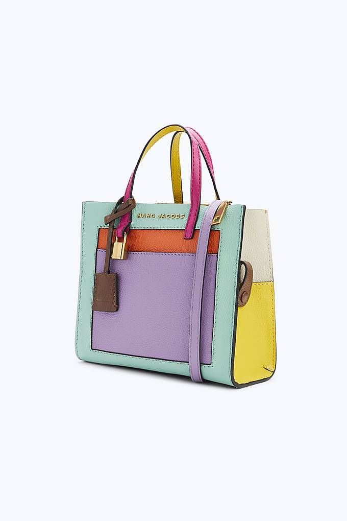 The Colorblock Mini Grind Bag   Marc Jacobs   MARC JACOBS BAGS ... 455226f02f65