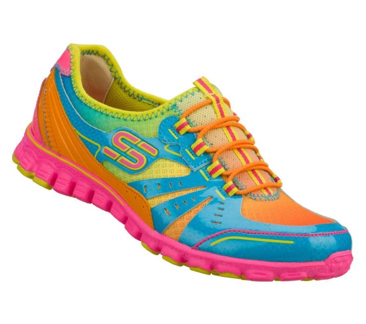 Skechers EZ Flex - TO THE MAX Women's Bungee Shoes MULTI ...