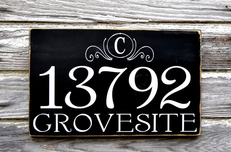 address plaques house number signs address signs - 1024×675