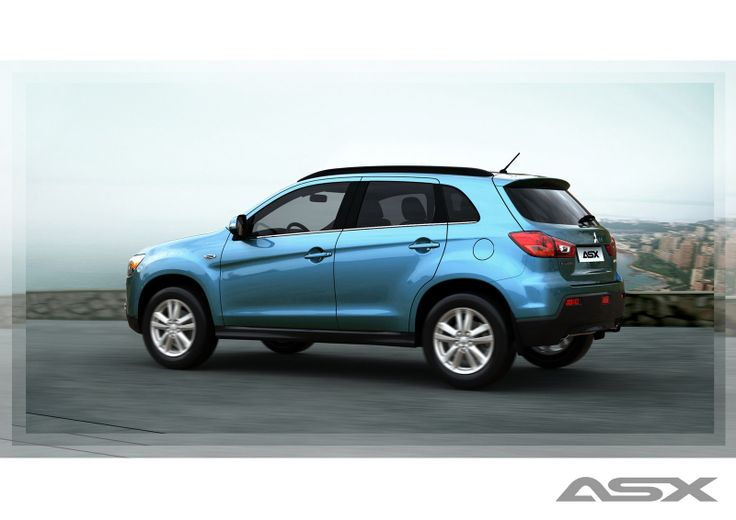 The ASX crossover vehicle has a softer look that will appeal to hatchback buyers. #MitsubishiMotorsSouthAfrica