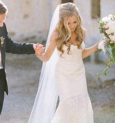 Classic bride in white