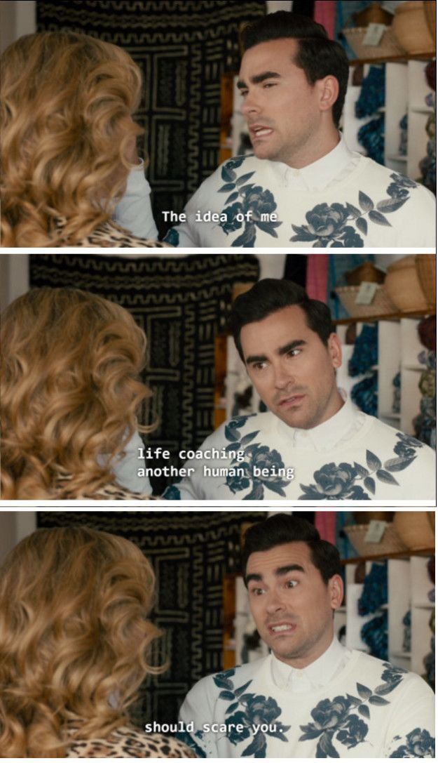 "When David rejected a career opportunity. | 19 Times ""Schitt's Creek"" Was The Best Canadian Show On TV"