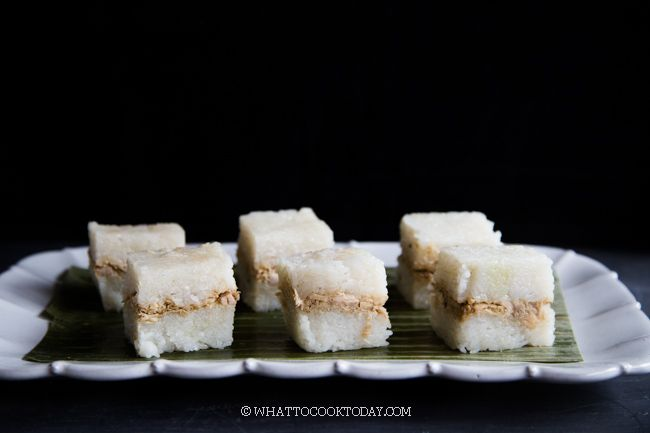 Easy Lemper Ayam Sticky Rice With Chicken Floss Sticky Rice Food And Drink Food