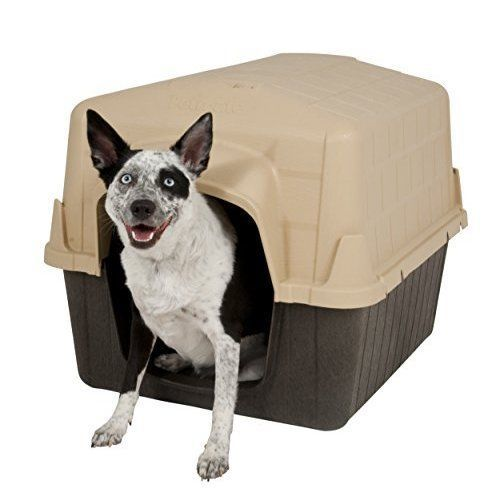 Pet Dog House Medium Outdoor Plastic Waterproof Easy to Clean NEW #DogHouse