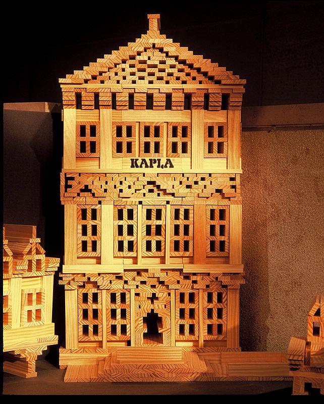 Gallery of Kapla Building Block Set for Big Construction