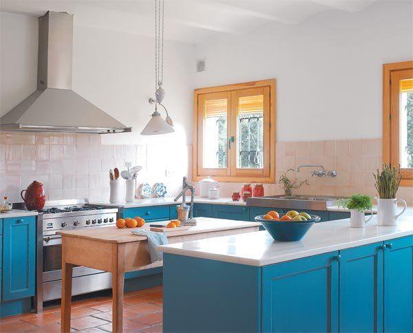 1279 mejores im genes sobre cocinas kitchen en pinterest - Cocinas abiertas rusticas ...