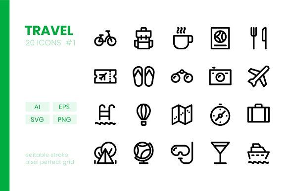 Travel Line Icons Line Icon Icon Png Icons