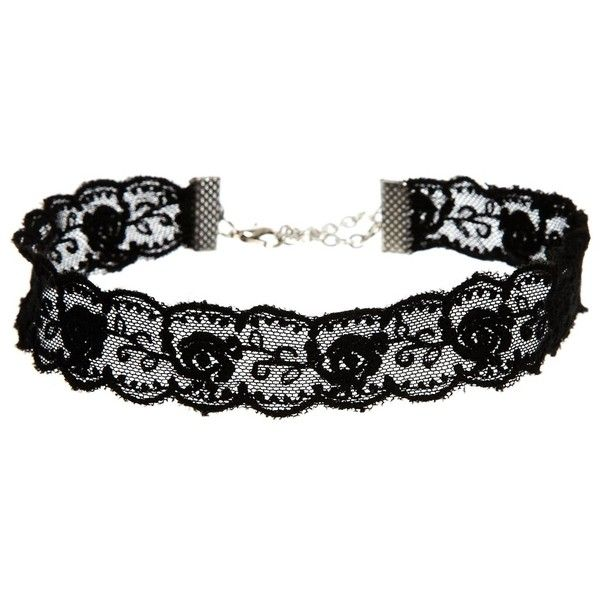 ASOS Lace Choker Necklace (£6) ❤ liked on Polyvore featuring jewelry, necklaces, accessories, chokers, black, asos jewelry, black necklace, kohl jewelry, lace jewelry and choker necklace