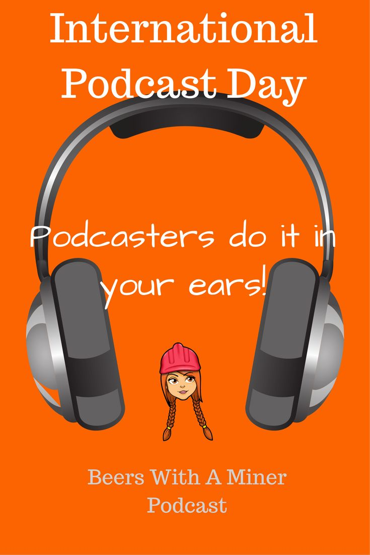 30th Sept is #internationalpodcastday What is your favourite? I love heaps and love creating them for you. Pic up ya mate's phone and show them how to find a free podcast and how to subscribe. So cool to listen to audio on the go. Doesn't have to be my Beers With A Miner Podcast :-)