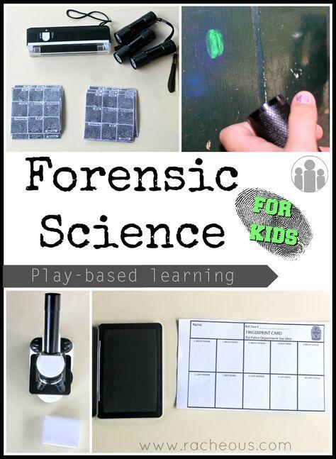 Descubriendo Pequemundos: Ciencia forense para niños