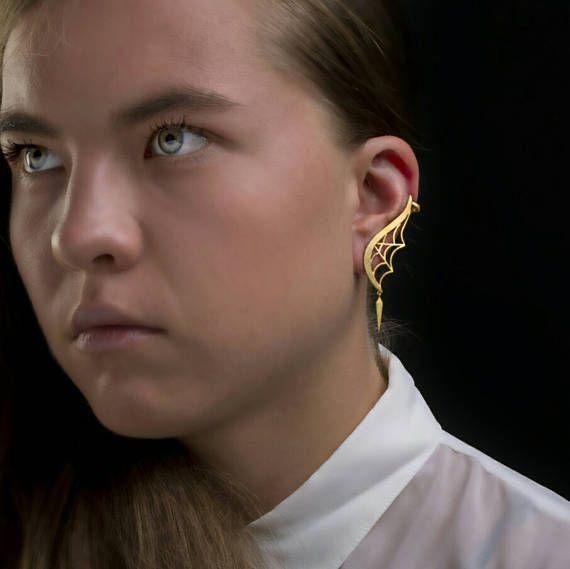 Codwed αυτί σφαλιάρα earringsClimbing earrings925 μασίφ ασήμι