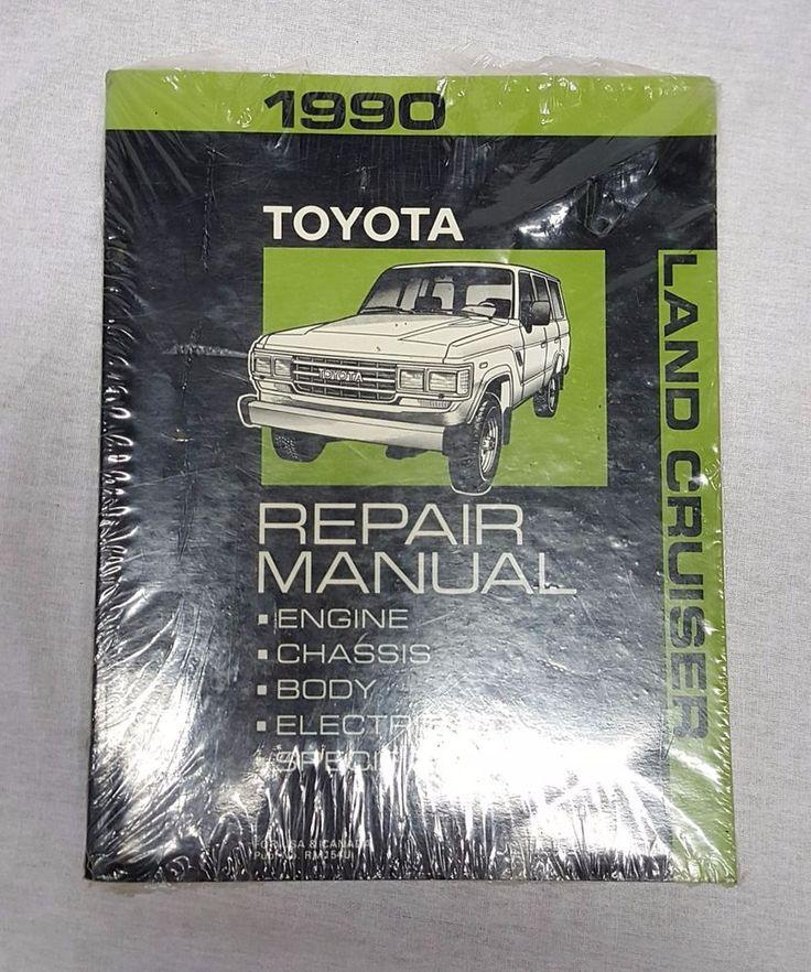 1990 Toyota LANDCRUISER Factory SERVICE & REPAIR Manual by Toyota #workshoprepairmanual