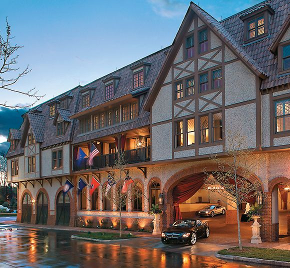 Grand Bohemian Hotel Asheville Autograph Collection Located In Biltmore Village We Had A Delightful Stay Here Starting With Complimentary Champagne At