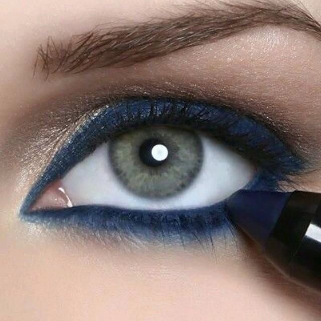 Younique Precarious precision eye liner!  I've always wanted to try a blue eyeliner!